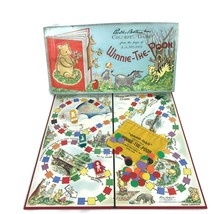 Vintage 1959 Winnie the Pooh Colorful Board Game A.A. Milne Parker Broth... - $22.98