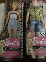 Barbie Fashionistas Doll Ken & Barbie With  Red Hair #122 & #139 - $20.79