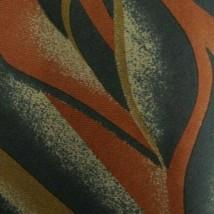 Green Orange Abstract VALENTINO Silk Tie - $9.99