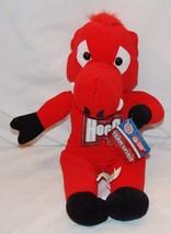 "NCAA Collegiate Arkansas Razorbacks Plush Stuffed Animal 15"" NWT Hogs Ma... - $22.05"