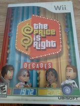 Nintendo Wii The Price Is Right: Decades ~ COMPLETE image 1