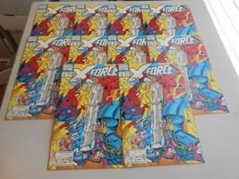 Lot of 10 1991 X-Force Comics 4 from Marvel Comics  - £6.26 GBP
