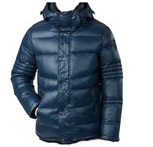 Pajar Canada Men's Duck DOWN Hood Dorchester Quilted Blue Jacket Sz XL  - $375.21