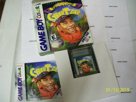 CyberTiger (Nintendo GameBoy Color, 2000) COMPLETE IN BOX - $4.92