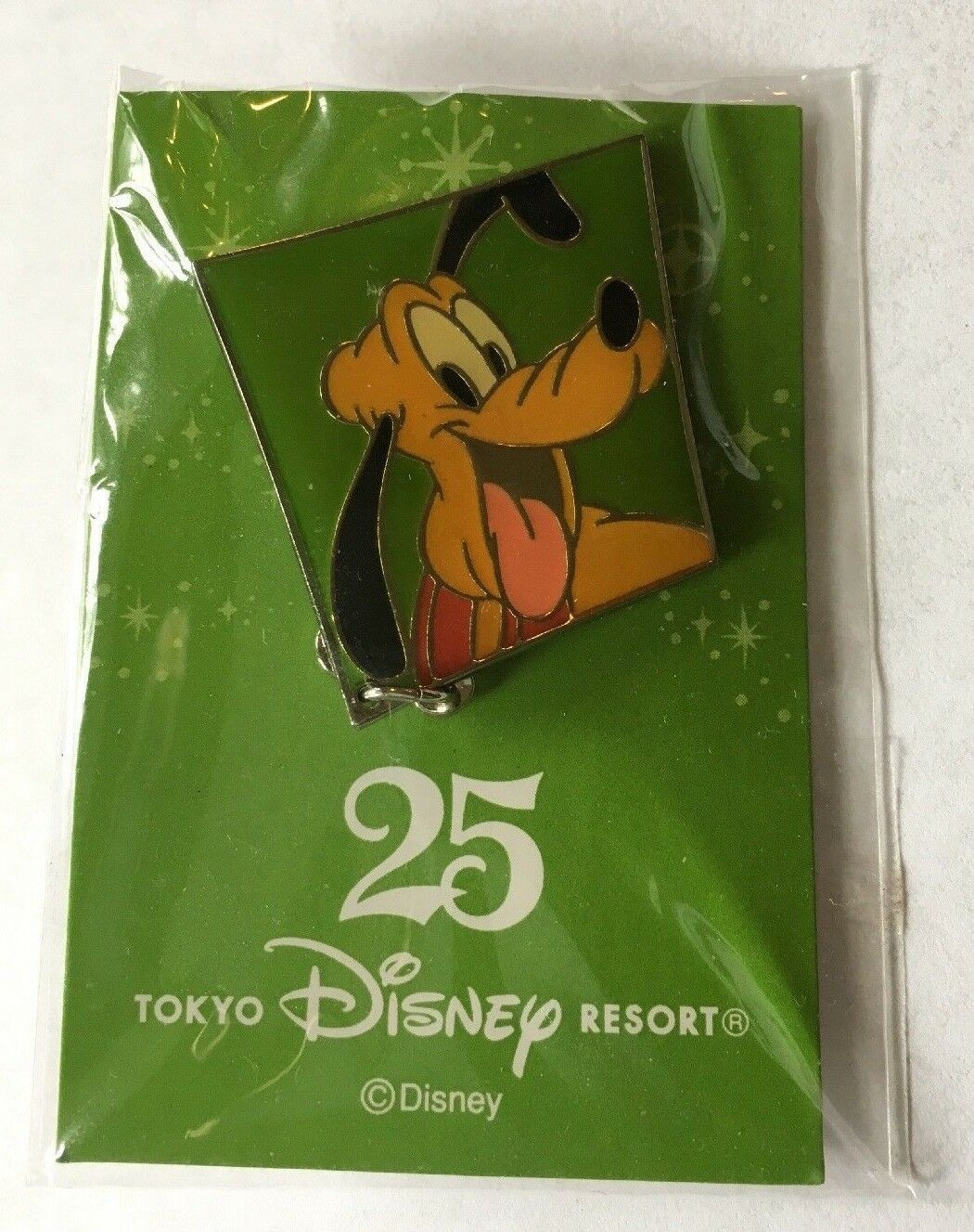 Primary image for Disney Tokyo Pin Pluto 25th Anniversary No.12 Pluto Disney Pin NEW