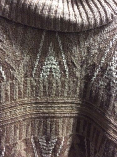 Ralph Lauren Authentic Plus Size 2X Southwest Long Open Tie Front Sweater Vest image 9