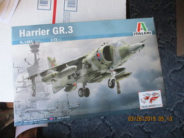 Italeri  Harrier GR.3 Falklands War 1/72 scale - $22.99