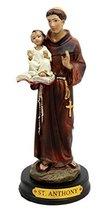 "Atlantic Collectibles Saint Anthony Carrying Baby Jesus Decorative Figurine 5.5"" - $16.95"