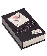 Kate Spade A Way With Words As You Like It Covered Box Black Lacquer NEW - $46.90