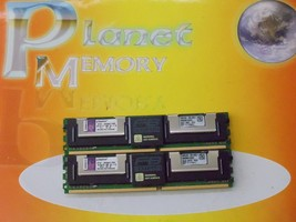KINGSTON 16GB (2x 8GB) DDR2 pc2-5300fb 240P 667MHz con Buffer ktd-xw667/16G - $21.76