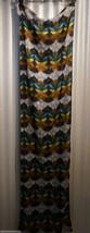 Womens Scarf Wrap Shawl Multicolored Soft Echo Design 20X72 Style 263071... - $19.99