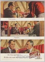 1948 Schlitz Beer Businessmen Suits Liquid Lunch Milwaukee Print Ad Vtg ... - $9.74