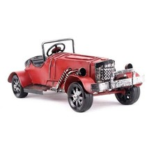 Metal Car Vintage Runabout Model Retro Automobile Figurines Prop Home De... - $29.03