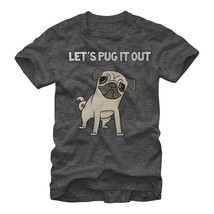 """Lost Gods Let""""s Pug It Out Mens Graphic T Shirt - $14.60 CAD"""