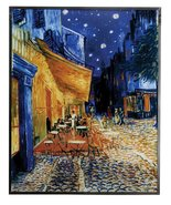 YTC Van Gogh Cafe Terrace at Night Painting - $98.00