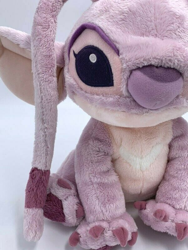 Disney Disneyland Resort Paris Pink Purple Lilo & Stitch Angel Plush Girlfriend