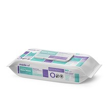 Organic Baby Wipes by MADE OF - Soothing Soft for Sensitive Skin and Ecz... - $12.55