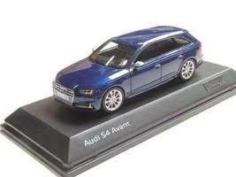 Audi 1/43 Scale Audi S4 Avant B9 Blue Color Diecast Mini Car New Japan E05 - $299.99
