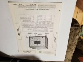 Vintage Photofact Folder Parts Manual - b1 - Bendix Models 753F - M - W - $6.92
