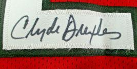 CLYDE DREXLER / NBA HALL OF FAME / AUTOGRAPHED TRAIL BLAZERS CUSTOM JERSEY / COA image 4