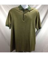 Bobby Jones Golf Shirt 100% Italian Cotton Printed Size Medium M - $14.01