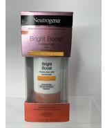 Neutrogena Bright Boost Moisturizer With Sunscreen SPF 30 1 Oz *NEW* Exp... - $7.82