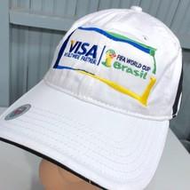 Adidas Visa FIFA World Cup Brasil Brazil Strapback Baseball Cap Hat - $17.43