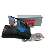 Ray-Ban RB3576N Blaze Clubmaster 153/7V Black Frame/Violet Blue Mirror L... - $106.67