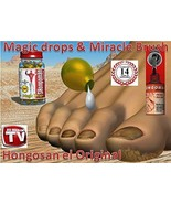 Hongosan Nail Fungus Original Hongosan Miracle Brush and Hongosan Magic ... - $49.99