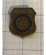 Antique Postal Inspector Badge # 1296 Jacksonville, Obsolete - $135.00