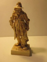 VINTAGE #9003 8 BROWN WASHED PORCELAIN BUM HOBO FIGURINE - $9.99