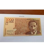 Colombia 1000 pesos uncirc. banknote 2016 - $6.50