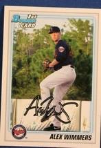2010 Bowman Draft Prospects Baseball Card #BDPP88 Alex Wimmers - $0.99