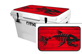 "RTIC Wrap ""Fits Old Mold"" 65qt Cooler 24mil Lid Kit BoneFish Wood Red - $36.95"