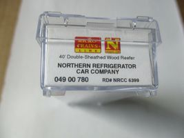 Micro-Trains #04900780 Northern Refrigerator 40' Double Sheathed Reefer N-Scale image 5
