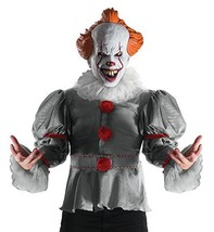 Rubies Deluxe It Movie 2017 Pennywise Adult Mens Clown Halloween Costume 820859 - $44.99