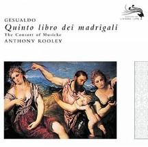 GESUALDO:FIFTH BOOK OF MADRIGALS FOR - $15.98