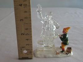 Lemax Christmas Village Figure Figurine Santa Claus Elf Ice Sculpture Ch... - $12.99