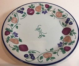 Orchard Medley-A Princess House Exclusive-Set of 2 Dinner Plates (Indone... - $24.74