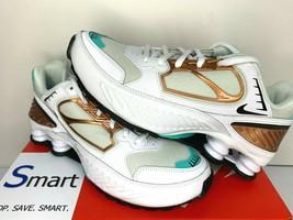 $120 NIB SIZES 7-9 WOMEN Nike Shox Enigma Running Training Shoes White S... - $66.78