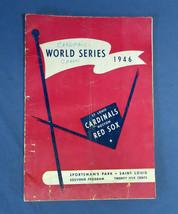 Vintage 1946 World Series Sportsman's Park Baseball Program Boston St Lo... - $129.99