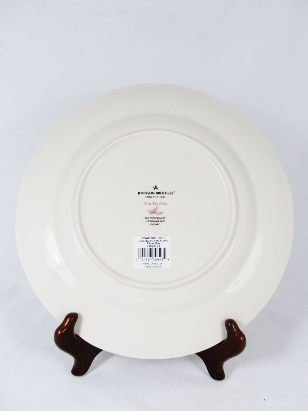 JOHNSON BROTHERS 2016 Collector Plate Twas and 50 similar items