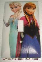 Frozen Elsa Anna Light Switch Duplex Outlet wall Cover Plate & more Home decor