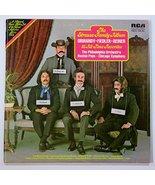 the strauss family album LP [Vinyl] Strauss; Ormandy; Fiedler and Reiner - $14.99