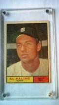 1961 Topps AL KALINE Detroit Tigers #429 - $21.78