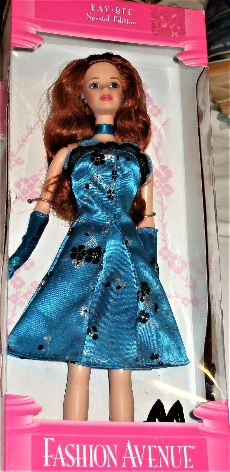Barbie Doll - FASHION AVENUE Kay-Bee Special Ed (1998) Long Red Hair image 8