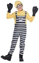 Rubies Despicable Me 3 Jail Minion Tom Gru Kevin Kids Halloween Costume ... - $28.99