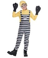 Rubies Despicable Me 3 Jail Minion Tom Gru Kevin Kids Halloween Costume ... - £18.18 GBP