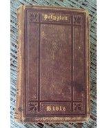Polygott Bible English Version.  Preface by Thomas Chevalier. Circa 1876... - $24.00