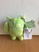 Google Android: Green Huzband Plush Key Chain Brand NEW! - $19.99